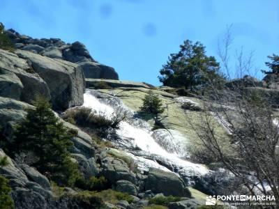 Cascadas de La Granja - Chorro Grande y Chorro Chico; senderismo en; los senderos;rutas senderismo i